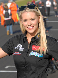Redstone Racing Grid Girl