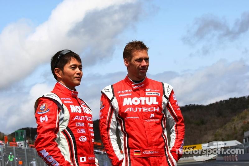 Satoshi Motoyama en Michael Krumm