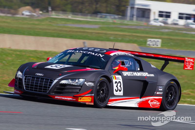 #33 Belgian Audi Club Team WRT Audi R8 LMS: Frank Stippler, Oliver Jarvis