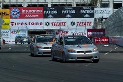 Toyota Pro/Celebrity Race won by comedian Adam Carolla