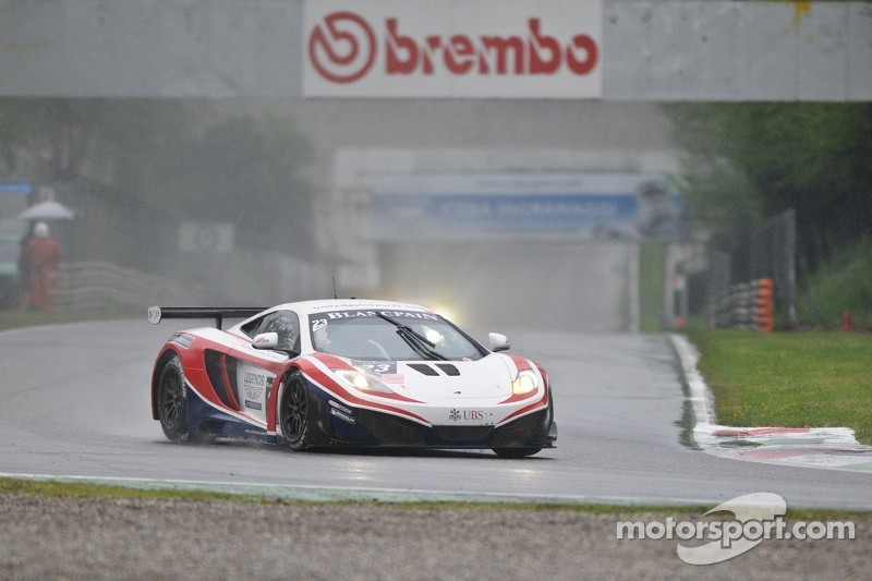 #23 United Autosports McLaren MP4-12C GT3: Mark Patterson, Mark Blundell, Zak Brown