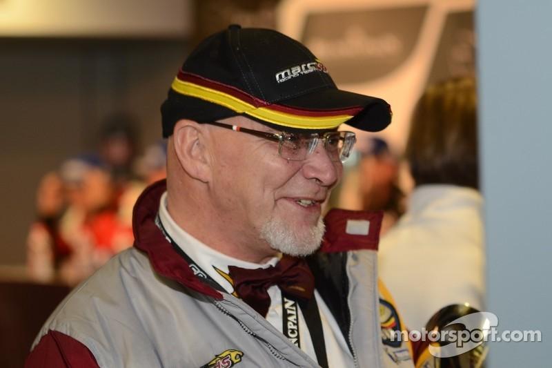 Marc Van Der Straten - Team Owner: Marc VDS Racing at Blancpain Endurance Series: Monza