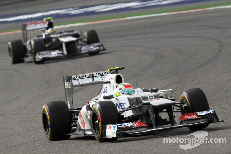 Sergio Pérez, Sauber F1 Team F1 Team