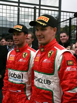 Third place Filip Salaquarda, Toni Vilander