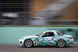 #27 Freedom Autosport Mazda MX-5: Steve Phillips, Tyler Cooke