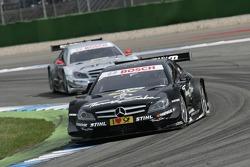 Gary Paffett, Team HWA AMG Mercedes, AMG Mercedes C-Coupe, Jamie Green, Team HWA AMG Mercedes, AMG Mercedes C-Coupe