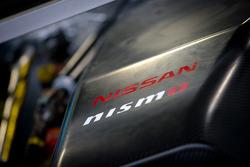 #12 Team Impul Nissan GT-R engine detail
