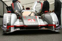 #4 Audi Sport North America Audi R18 Ultra: Oliver Jarvis, Marco Bonanomi
