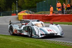 #1 Audi Sport Team Joest Audi R18 e-tron quattro: Andre Lotterer, Benoit Tréluyer, Marcel Fassler