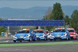 Start van de race, Yvan Muller, Chevrolet Cruze 1.6T, Chevrolet