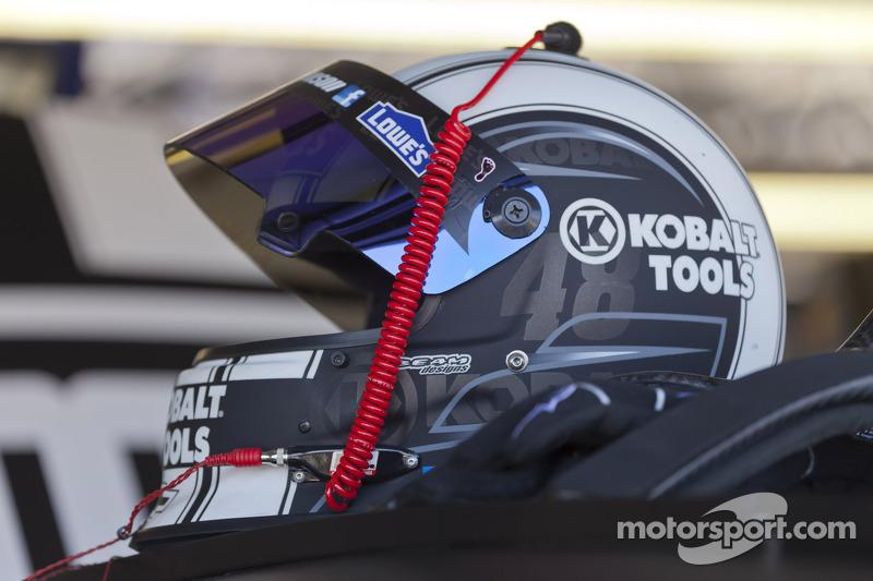 Helmet of Jimmie Johnson, Hendricks Motorsports Chevrolet