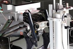 Mercedes AMG F1 W03 detail