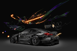 BMW M6 GT3 Cao Fei Art Car unveil