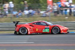 #82 Risi Competizione Ferrari 488 GTE: Тоні Віландер, Джанкарло Фізікелла, П'єрр Каффер