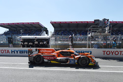 #26 G-Drive Racing Oreca 07 Gibson: Roman Rusinov, Pierre Thiriet, Alex Lynn returns to pits with damage
