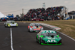 Juan Jose Ebarlin, Donto Racing Chevrolet, Norberto Fontana, JP Carrera Chevrolet, Martin Ponte, UR Racing Team Dodge