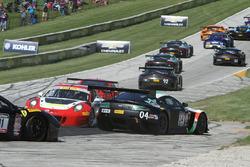 #16 Wright Motorsports Porsche 911 GT3 R: Michael Schein kaza