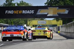 #87 TA2 Chevrolet Camaro, Rafael Matos, HP Tech Motorsports, #72 TA2 Chevrolet Camaro, Shane Lewis, Robinson Racing