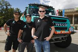 #302 Team De Rooy Iveco: Gerard de Rooy, Moi Torrallardona, Dariusz Rodewald