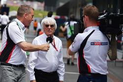 بيرني إكليستون، الرئيس الفخري للفورمولا واحد