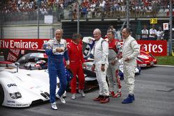 Hans-Joachim Stuck, Jean Alesi, Helmut Marko, Tom Kristensen, Gerhard Berger