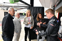 Paul Stoddart, Tony Jardine, Kevin Eason, F1 Experiences 2-Seater passenger, Rachel Brooks, Sky TV, Natalie Pinkham, Sky TV and Simon Lazenby, Sky TV F1 Experiences 2-Seater passenger