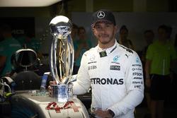 Race winner Lewis Hamilton, Mercedes AMG F1 after winning the race