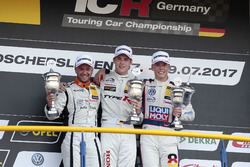 Podium: 1. Moritz Oestreich, Honda Team ADAC Sachsen, Honda Civic Type R-TCR, 2. Pascal Eberle, Steibel Motorsport, Seat Leon TCR, 3. Luca Engstler, Liqui Moly Team Engstler, VW Golf GTI TCR