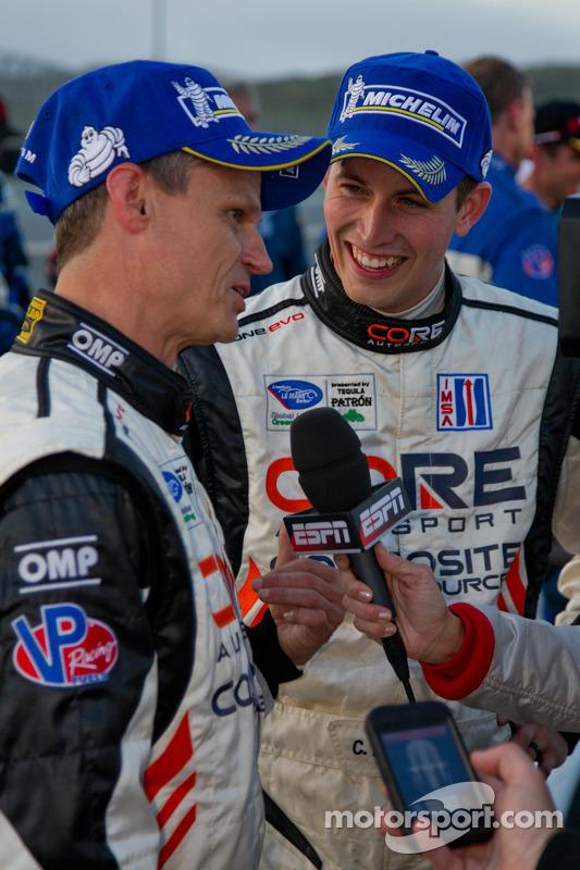 Colin Braun and Jonathan Bennett interview after winning PC class