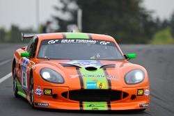 #63 Nova Race Ginetta GT4: Matteo Cressoni, Michael Simpson, Alessandro Bonacini, Tiziano Cappelletti