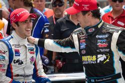 Victory lane: race winner Esteban Guerrieri, Sam Schmidt Motorsports celebrates with Tristan Vautier, Sam Schmidt Motorsports