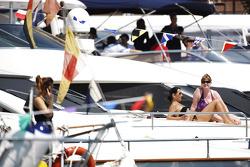 Women on a boat