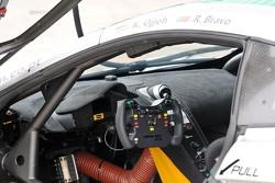 MP4-12C GT3 interior