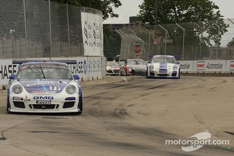 David Welch, Porsche 911 GT-3 Cup James Sofronas, Porsche 911 GT-3 Cup
