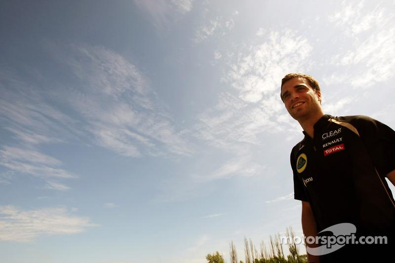 Jerome d'Ambrosio, Lotus F1 Team derde rijder