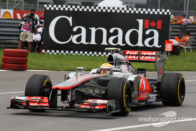 2012 - Lewis Hamilton, McLaren