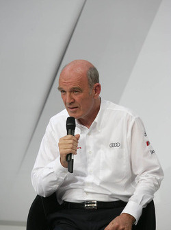 Dr. Wolfgang Ullrich, Audi's Head of Motorsport