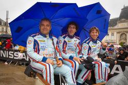 Fabien Giroix, Ludovic Badey and Stefan Johansson