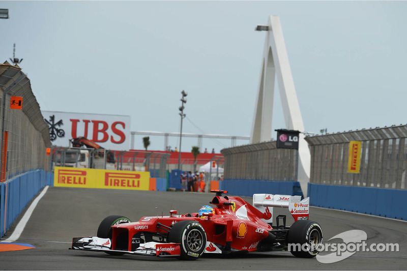 2012 - Valencia: Fernando Alonso, Ferrari F2012