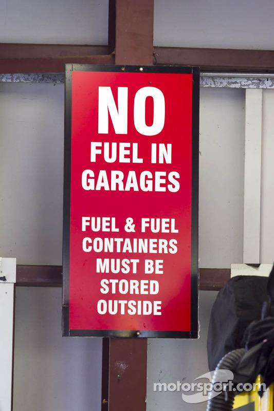 Fuel signage