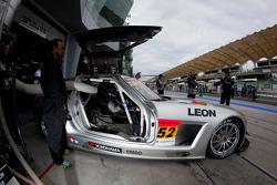 #52 Green Tec & Leaon Racing Team Mercedes-Benz SLS AMG GT3: Hironori Takeuchi, Haruki Kurosawa