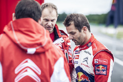 Sébastien Loeb tests the specially designed Citroën DS3 for the X-Games