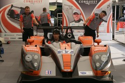#37 Conquest Endurance, Morgan-Nissan: Martin Plowman, David Heinemeier, Antonio Pizzonia