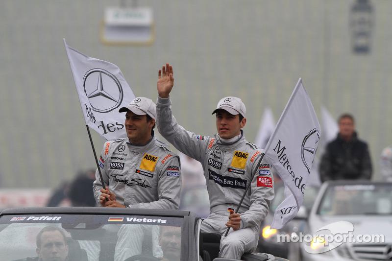 Gary Paffett, Team HWA AMG Mercedes, AMG Mercedes C-Coupe Christian Vietoris, Team HWA AMG Mercedes, AMG Mercedes C-Coupe