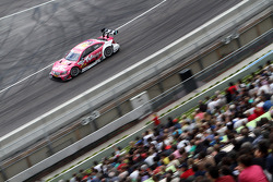 Sunday Round One Susie Wolff, Persson Motorsport, AMG Mercedes C-Coupe against Adrien Tambay, Audi Sport Team Abt Audi A5 DTM