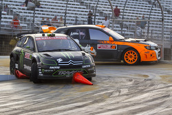 Liam Doran and Bucky Lasek race for position