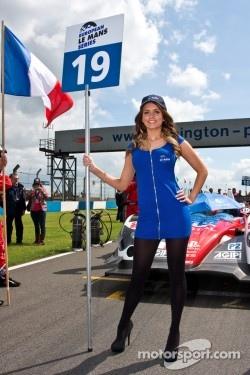 European Le Mans Series grid girl