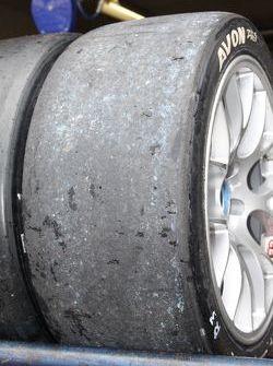 Tyres post-race