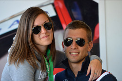 Alberto Cerqui, BMW 320 TC, ROAL Motorsport and his girfriend
