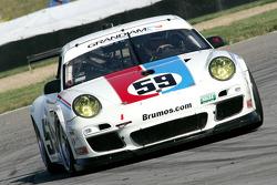 #59 Brumos Racing Porsche GT3 Cup: Leh Keen, Andrew Davis